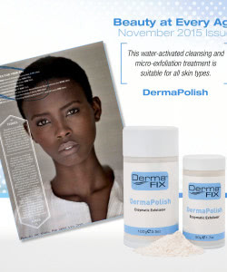 DermaFix Press Pages beauty at every age October November 2015