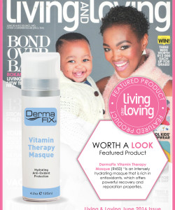 DermaFix Press Pages May & June 2016 - Living & Loving Cover