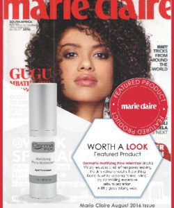 DermaFix Press Pages Marie Claire July Aug 2016