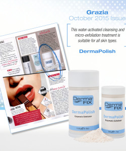 DermaFix Press Pages Grazia October November 2015