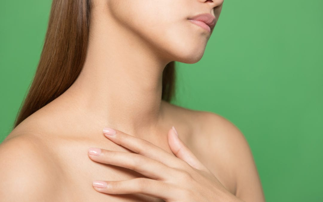 Combatting Sagging Skin on the Neck and Décolleté