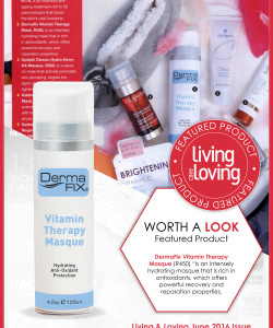 DermaFix Press Pages May & June 2016 - Living & Loving Insert