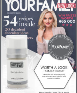 DermaFix Press Pages Your Family Cover June 2016