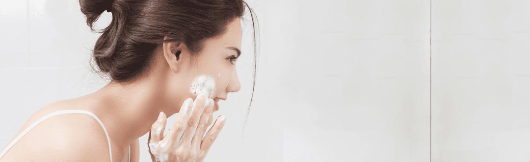 alkaline facial wash