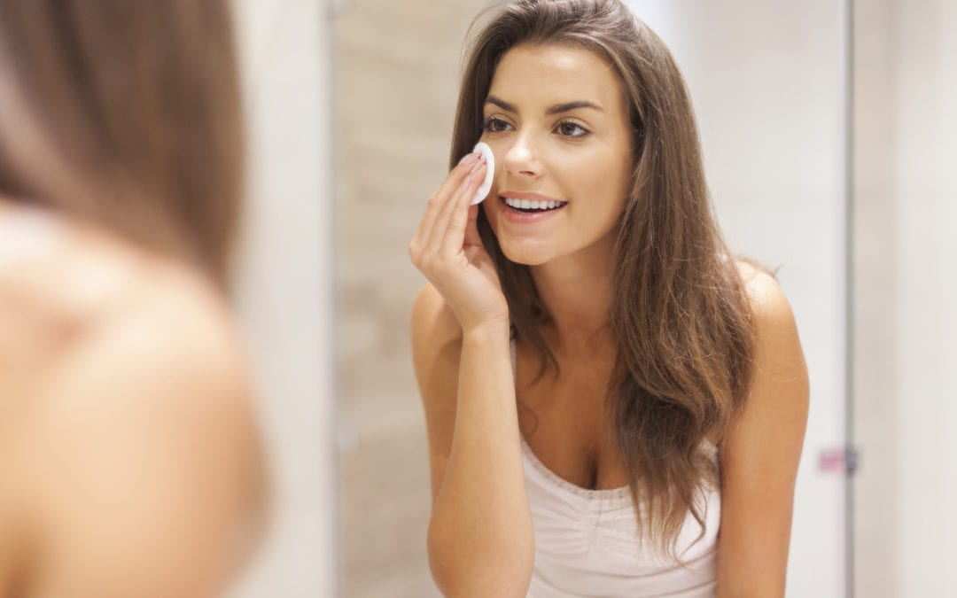 Maintaining elasticity, water and oils in skin care routines